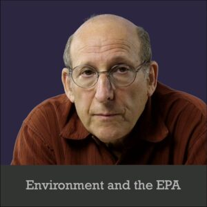 Environment and the EPA