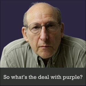 jon sachs purple